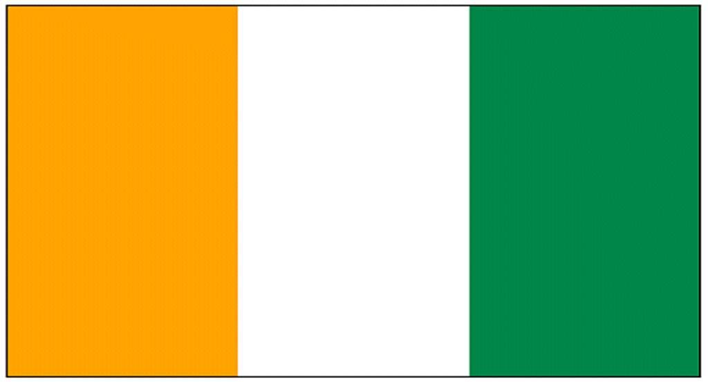 コートジボワール国旗