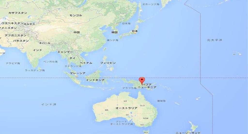 papua map