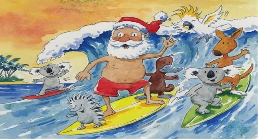 オーストラリアのクリスマスカード